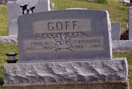GOFF, JOHN N. - Meigs County, Ohio | JOHN N. GOFF - Ohio Gravestone Photos