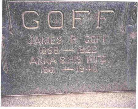 GOFF, ANNA S. - Meigs County, Ohio | ANNA S. GOFF - Ohio Gravestone Photos