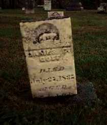 GOFF, JAMES C. - Meigs County, Ohio | JAMES C. GOFF - Ohio Gravestone Photos