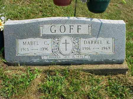 GOFF, DARREL K. - Meigs County, Ohio | DARREL K. GOFF - Ohio Gravestone Photos