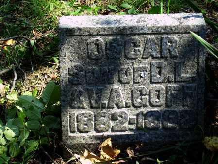 GOFF, OSCAR - Meigs County, Ohio | OSCAR GOFF - Ohio Gravestone Photos