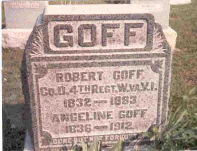 GOFF, ROBERT - Meigs County, Ohio   ROBERT GOFF - Ohio Gravestone Photos
