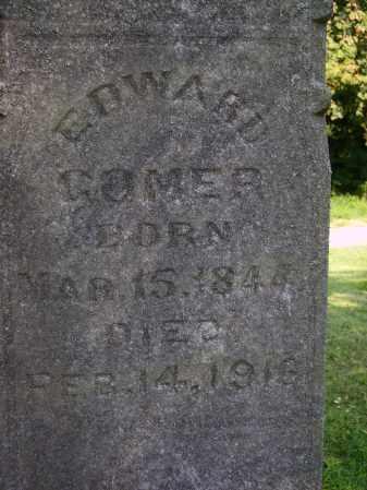 GOMER, EDWARD - Meigs County, Ohio   EDWARD GOMER - Ohio Gravestone Photos
