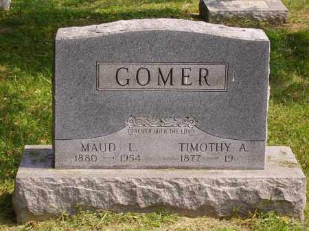 GOMER, TIMOTHY A. - Meigs County, Ohio   TIMOTHY A. GOMER - Ohio Gravestone Photos