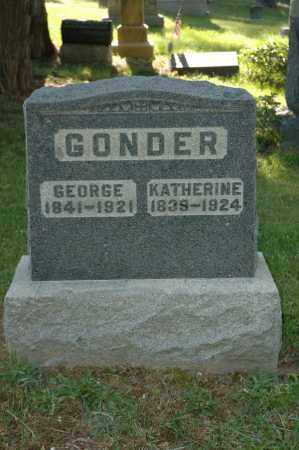 GONDER, GEORGE - Meigs County, Ohio | GEORGE GONDER - Ohio Gravestone Photos
