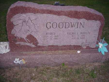 GOODWIN, PALMA I. - Meigs County, Ohio   PALMA I. GOODWIN - Ohio Gravestone Photos