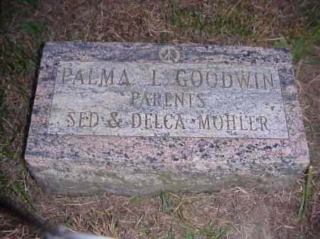 GOODWIN, PALMA L. - Meigs County, Ohio   PALMA L. GOODWIN - Ohio Gravestone Photos