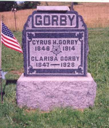 GORBY, CYRUS H. - Meigs County, Ohio | CYRUS H. GORBY - Ohio Gravestone Photos