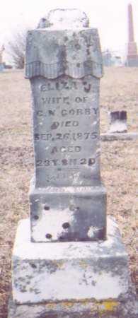 GORBY, ELIZA J. - Meigs County, Ohio | ELIZA J. GORBY - Ohio Gravestone Photos