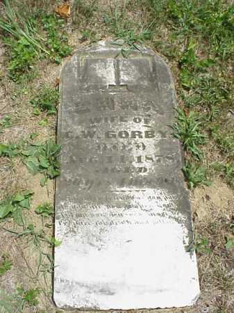 GORBY, EMMA - Meigs County, Ohio | EMMA GORBY - Ohio Gravestone Photos