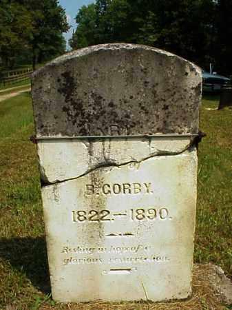 HILL GORBY, MARY A. - Meigs County, Ohio   MARY A. HILL GORBY - Ohio Gravestone Photos