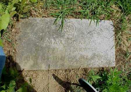 GORBY, MAX - Meigs County, Ohio   MAX GORBY - Ohio Gravestone Photos