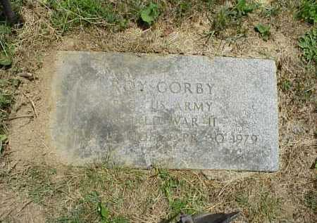 GORBY, ROY - Meigs County, Ohio | ROY GORBY - Ohio Gravestone Photos