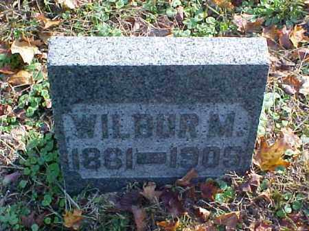 GORSUCH, WILBUR M. - Meigs County, Ohio | WILBUR M. GORSUCH - Ohio Gravestone Photos