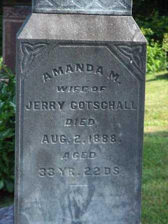 GOTSCHALL, AMANDA M. - Meigs County, Ohio   AMANDA M. GOTSCHALL - Ohio Gravestone Photos
