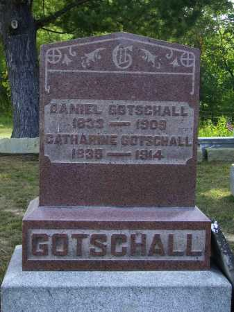 HAUN GOTSCHALL, CATHARINE - Meigs County, Ohio | CATHARINE HAUN GOTSCHALL - Ohio Gravestone Photos