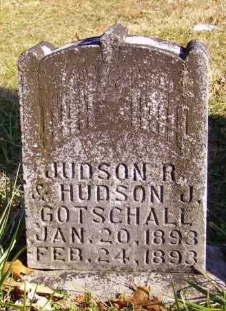 GOTSCHALL, HUDSON J. - Meigs County, Ohio | HUDSON J. GOTSCHALL - Ohio Gravestone Photos