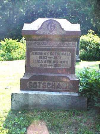 TURNER GOTSCHALL, ELIZA ANN - Meigs County, Ohio | ELIZA ANN TURNER GOTSCHALL - Ohio Gravestone Photos
