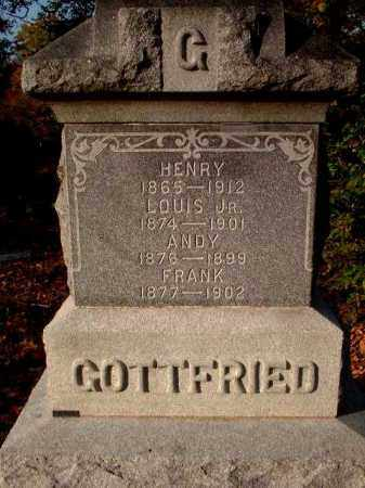 GOTTFRIED, ANDY - Meigs County, Ohio | ANDY GOTTFRIED - Ohio Gravestone Photos
