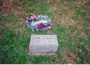 GRADY, ONIE - Meigs County, Ohio   ONIE GRADY - Ohio Gravestone Photos