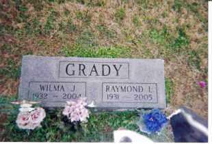 GRADY, WILMA J. - Meigs County, Ohio | WILMA J. GRADY - Ohio Gravestone Photos
