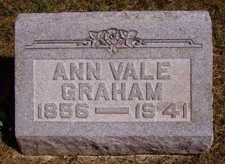 VALE GRAHAM, ANN - Meigs County, Ohio | ANN VALE GRAHAM - Ohio Gravestone Photos