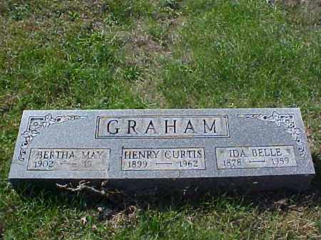 GRAHAM, HENRY CURTIS - Meigs County, Ohio | HENRY CURTIS GRAHAM - Ohio Gravestone Photos