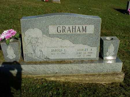 GRAHAM, SHIRLEY A. - Meigs County, Ohio | SHIRLEY A. GRAHAM - Ohio Gravestone Photos
