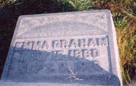 GRAHAM, EMMA - Meigs County, Ohio | EMMA GRAHAM - Ohio Gravestone Photos