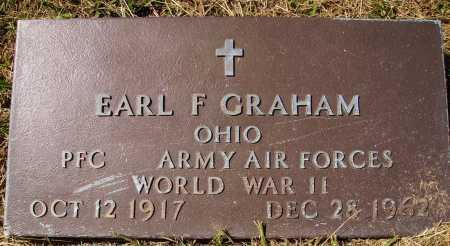 GRAHAM, EARL F. - MILITARY - Meigs County, Ohio | EARL F. - MILITARY GRAHAM - Ohio Gravestone Photos