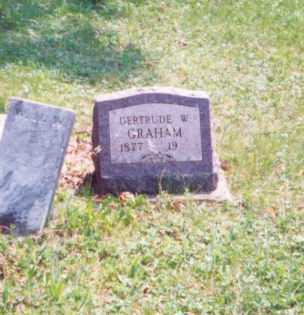 GRAHAM, GERTRUDE W. - Meigs County, Ohio | GERTRUDE W. GRAHAM - Ohio Gravestone Photos