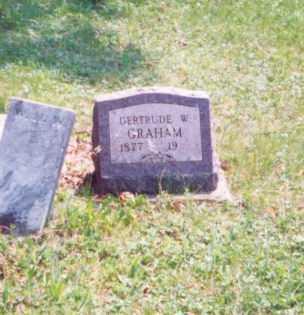 GRAHAM, GERTRUDE W. - Meigs County, Ohio   GERTRUDE W. GRAHAM - Ohio Gravestone Photos