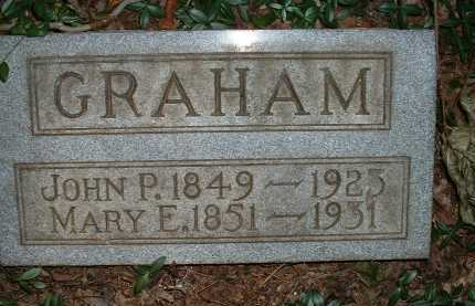 GRAHAM, MARY E. - Meigs County, Ohio | MARY E. GRAHAM - Ohio Gravestone Photos