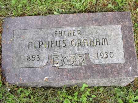 GRAHAM, JOHN ALPHEUS - Meigs County, Ohio   JOHN ALPHEUS GRAHAM - Ohio Gravestone Photos