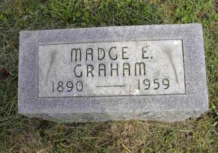 WILLIAMS GRAHAM, MADGE E. - Meigs County, Ohio   MADGE E. WILLIAMS GRAHAM - Ohio Gravestone Photos