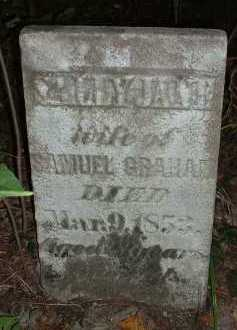 PIERCE GRAHAM, SALLY JANE - Meigs County, Ohio | SALLY JANE PIERCE GRAHAM - Ohio Gravestone Photos