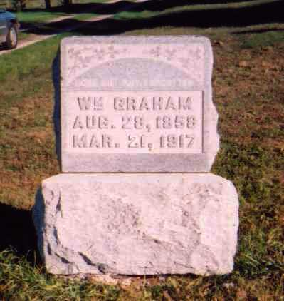 GRAHAM, WM. - Meigs County, Ohio | WM. GRAHAM - Ohio Gravestone Photos