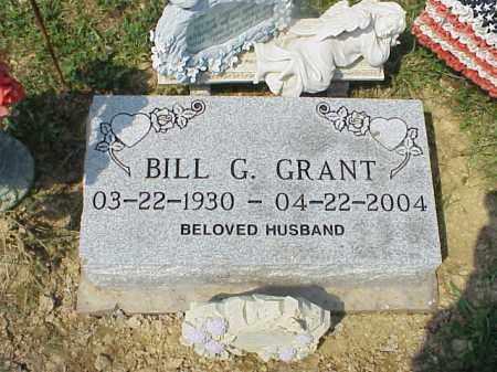 GRANT, BILL G. - Meigs County, Ohio | BILL G. GRANT - Ohio Gravestone Photos