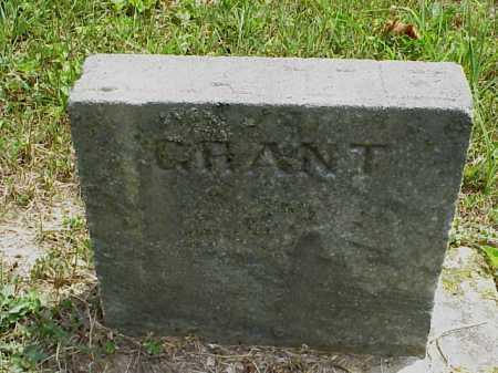 GRANT, KATE - Meigs County, Ohio | KATE GRANT - Ohio Gravestone Photos