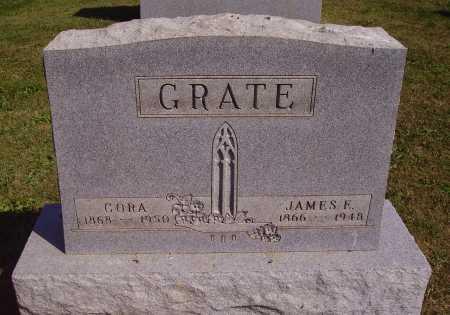 GREGORY GRATE, CORA - Meigs County, Ohio | CORA GREGORY GRATE - Ohio Gravestone Photos