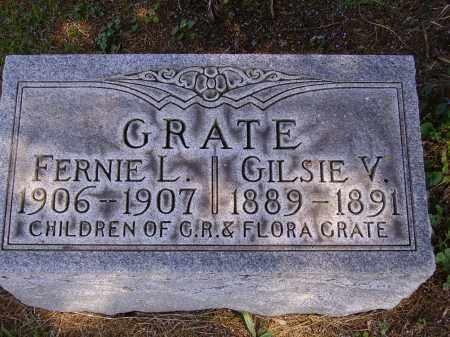 GRATE, GILSIE V. - Meigs County, Ohio | GILSIE V. GRATE - Ohio Gravestone Photos