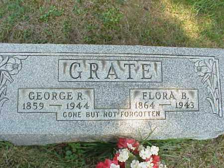 GRATE, FLORA B. - Meigs County, Ohio   FLORA B. GRATE - Ohio Gravestone Photos