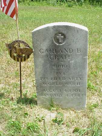 GRATE, GARLAND B. - Meigs County, Ohio | GARLAND B. GRATE - Ohio Gravestone Photos
