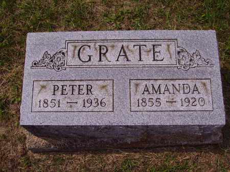 GRATE, PETER - Meigs County, Ohio | PETER GRATE - Ohio Gravestone Photos