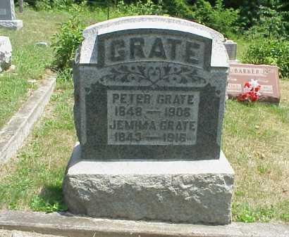 GRATE, PETER - Meigs County, Ohio   PETER GRATE - Ohio Gravestone Photos