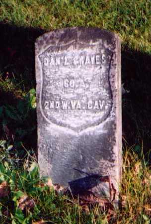 GRAVES, DANIEL - Meigs County, Ohio | DANIEL GRAVES - Ohio Gravestone Photos