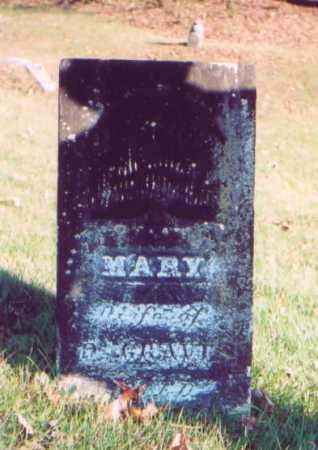 GRAVES, MARY - Meigs County, Ohio | MARY GRAVES - Ohio Gravestone Photos
