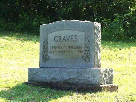 GRAVES, LENORA - Meigs County, Ohio   LENORA GRAVES - Ohio Gravestone Photos