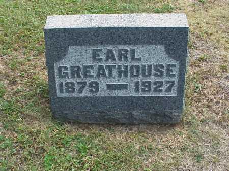 GREATHOUSE, EARL - Meigs County, Ohio | EARL GREATHOUSE - Ohio Gravestone Photos