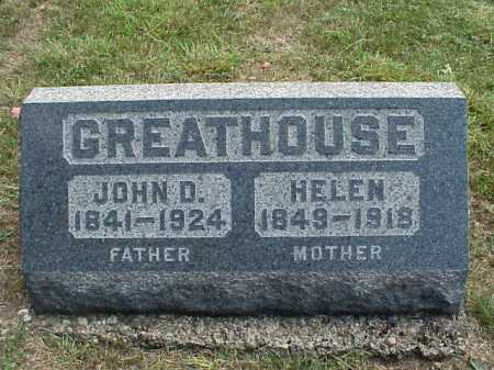GREATHOUSE, HELEN - Meigs County, Ohio | HELEN GREATHOUSE - Ohio Gravestone Photos